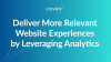 Deliver More Relevant Website Experiences by Leveraging Analytics