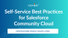Self-Service Best Practices for Salesforce Community Cloud