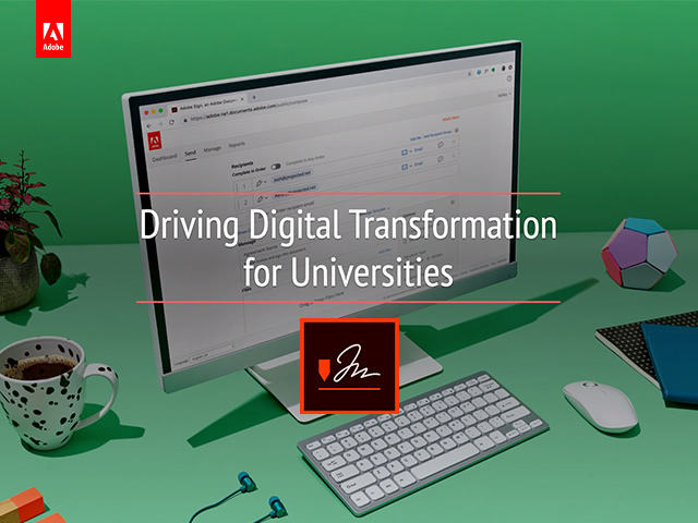 Driving Digital Transformation for Universities