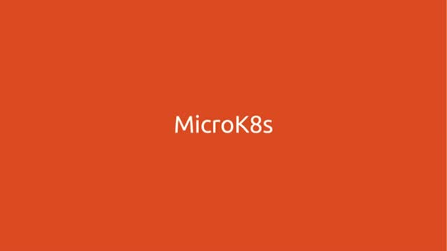 An Intro to MicroK8s