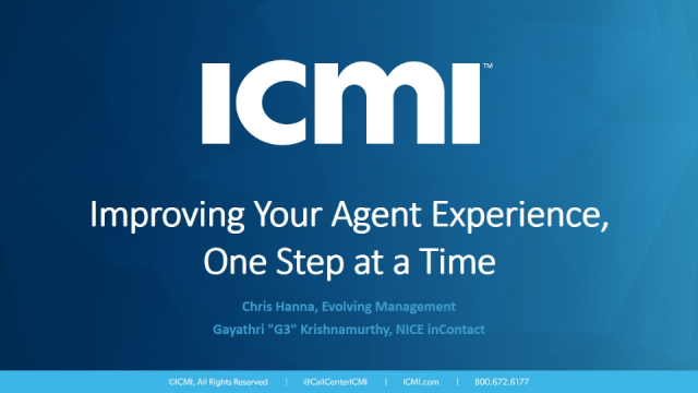 Improving Your Agent Experience, One Step at a Time