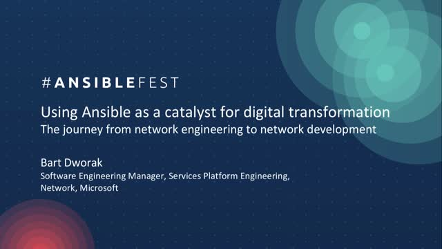 Using Ansible as a catalyst for digital transformation