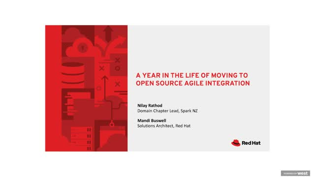 A year in the life of moving to open source agile integration