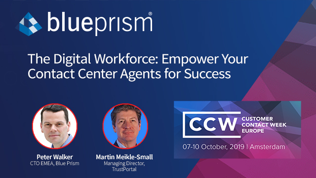 The Digital Workforce: Empower your Contact Center Agents for Success