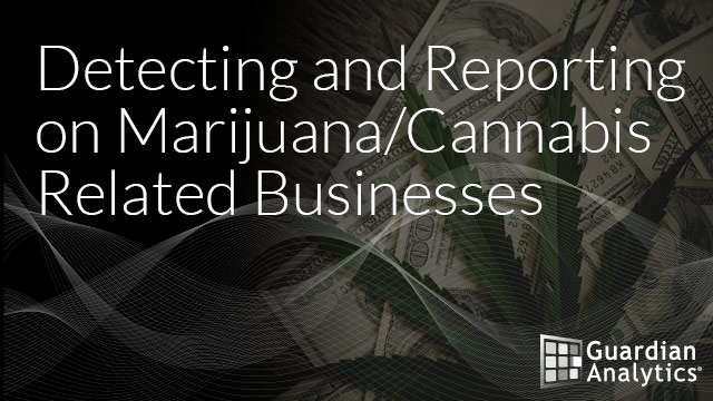 Detecting and Reporting on Marijuana/Cannabis Related Businesses