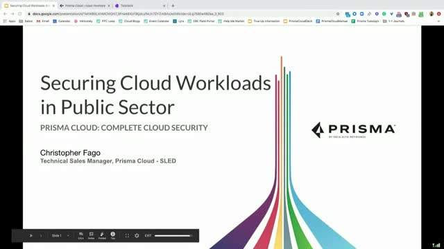 Securing Cloud Workloads in Public Sector