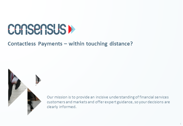 Contactless payments – within touching distance or falling further out of reach?
