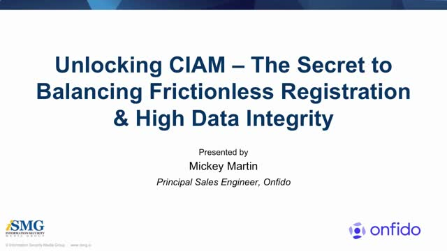 The Secret to Balancing Frictionless Registration & High Data Integrity