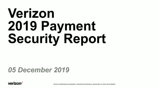 2019 Payment Security Report - French Practice Session