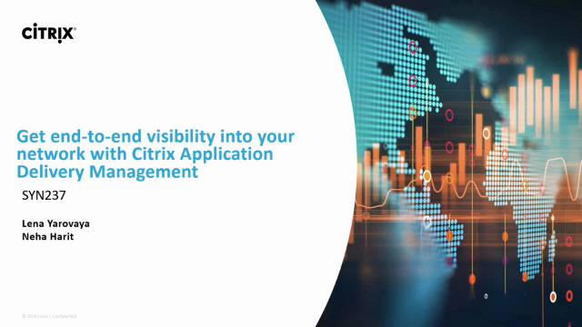 Get end-to-end visibility into your network with Citrix App. Delivery Management