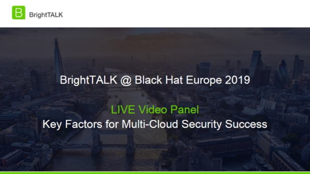 Live Video Panel – Key Factors for Multi-Cloud Security Success