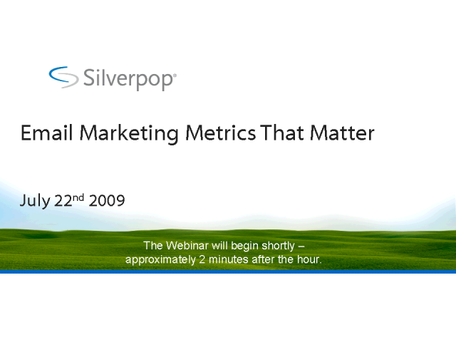 Email Marketing Metrics That Matter