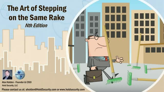 The Art of Stepping on the Same Rake – Nth Edition