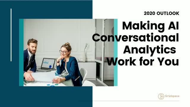 2020 Outlook – Making AI Conversational Analytics Work for You