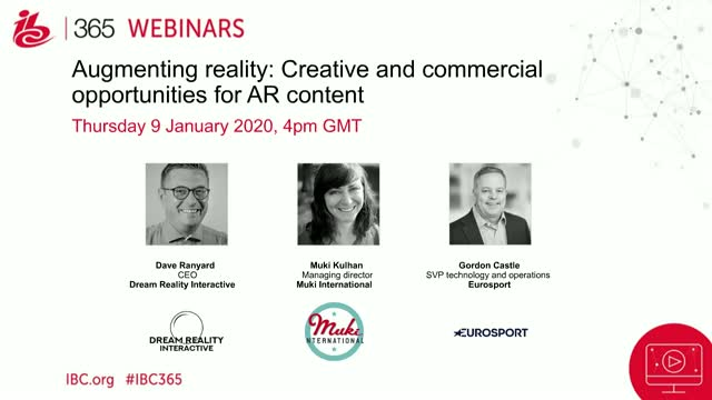 Augmenting reality: Creative and commercial opportunities for AR content