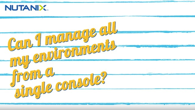 Cloud Shack Episode 2: Managing multiple environments from a single console