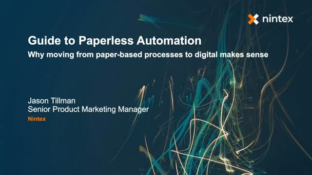 Guide to Paperless Automation