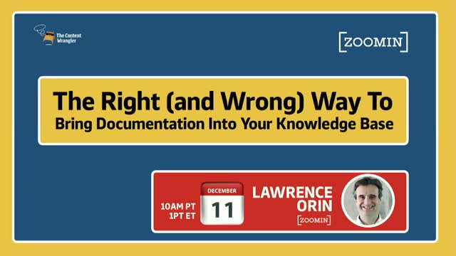 The Right (and Wrong) Way to Bring Documentation into Your Knowledge Base