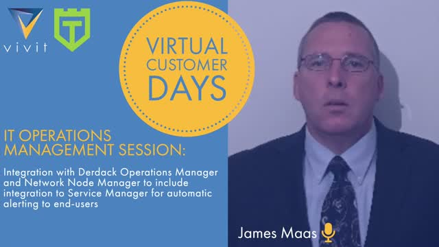 VCD ITOM: Live Q&A Integration with Derdack Ops Manager & Network Node Manager