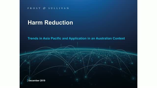 Application of Harm Reduction Principles in Australia