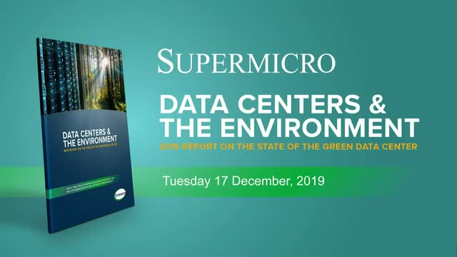 Data Centers and the Environment: 2019 Survey