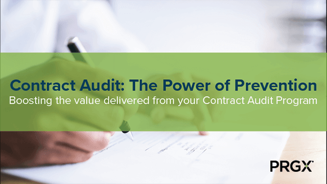 Contract Audit: The Power of Prevention