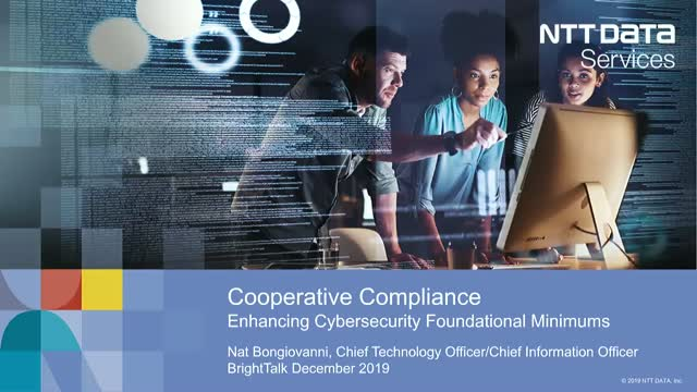 Cooperative Compliance, Enhancing Cybersecurity Foundational Minimums