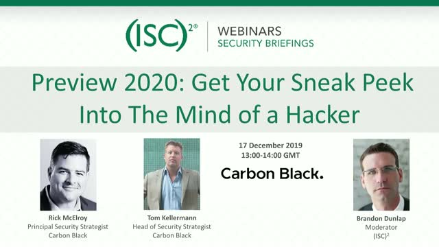 Preview 2020: Get Your Sneak Peek Into The Mind of a Hacker