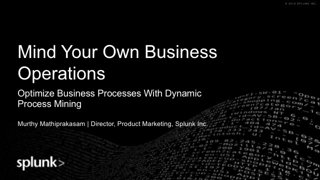 Optimize Business Processes With Dynamic Process Mining