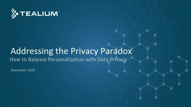 Addressing the Privacy Paradox: How to Balance Personalization and Data Privacy