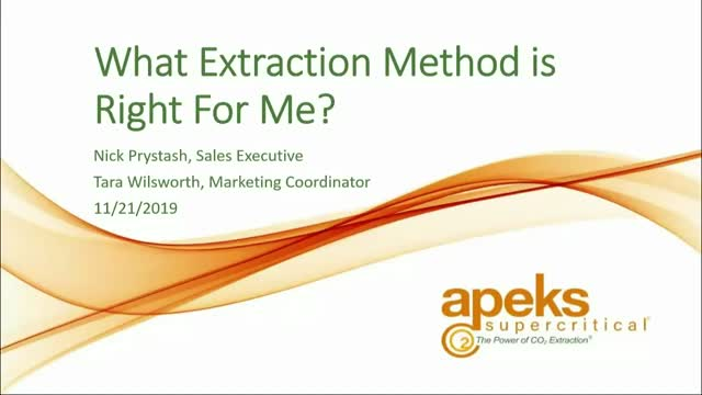 What Extraction Method is Right for Me?