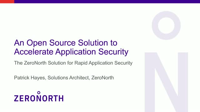 An Open Source Solution to Accelerate Application Security