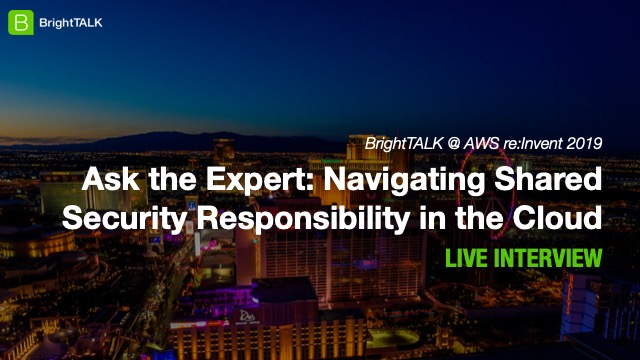 Ask the Expert: Navigating Shared Security Responsibility in the Cloud