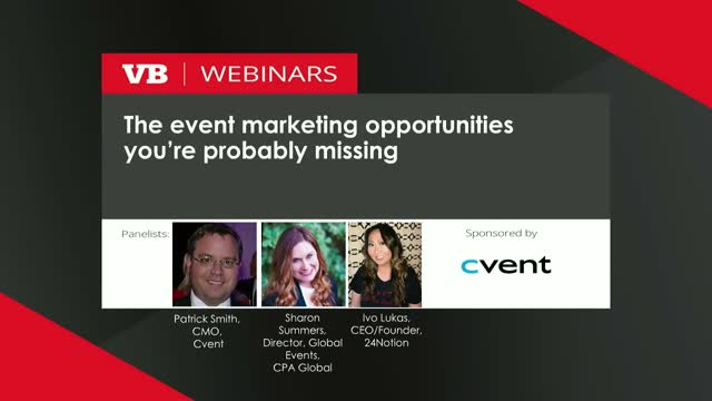 The event marketing opportunities you're probably missing