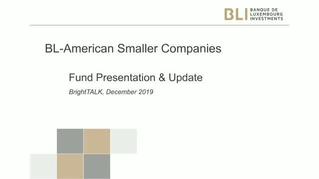 Fund update - BL American Smaller Companies