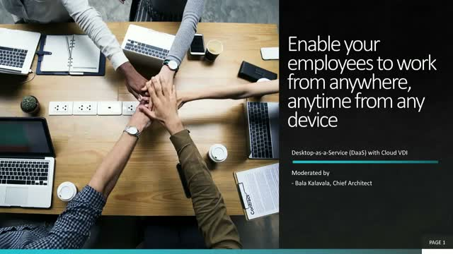 Enable your employees to work from anywhere, anytime from any device