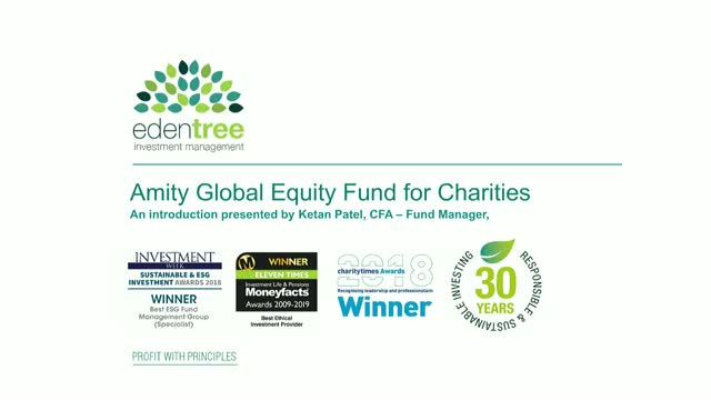 EdenTree Amity Global Equity Fund for Charities Introduction