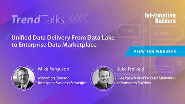Unified Data Delivery From Data Lake to Enterprise Data Marketplace