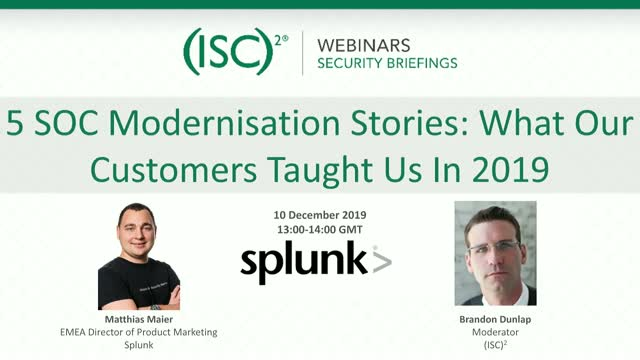 5 SOC Modernisation Stories: What Our Customers Taught Us In 2019