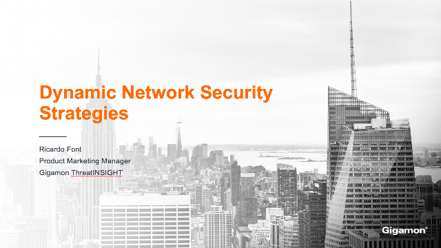 Dynamic Network Security Strategies