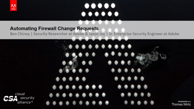 Automating Firewall Change Requests