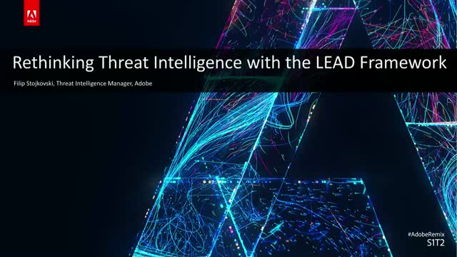 Rethinking Threat Intelligence with the LEAD Framework