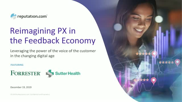 Re-imagining Patient Experience in the Feedback Economy
