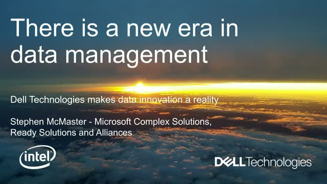 Dell Technologies Makes Data Innovation a Reality