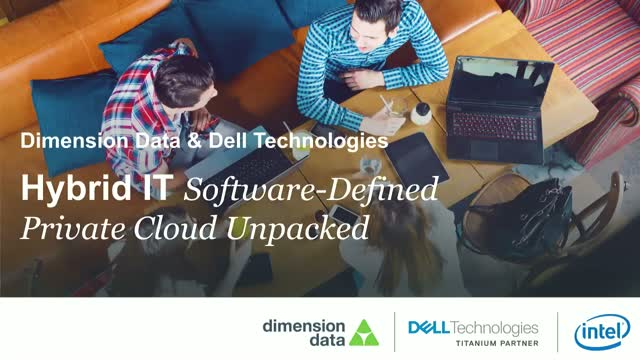 Hybrid IT: Software-defined Private Cloud unpacked