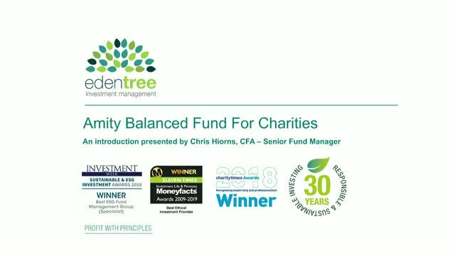 EdenTree Amity Balanced Fund for Charities Introduction