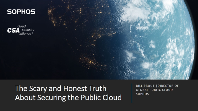 The Scary and Honest Truth About Securing the Public Cloud