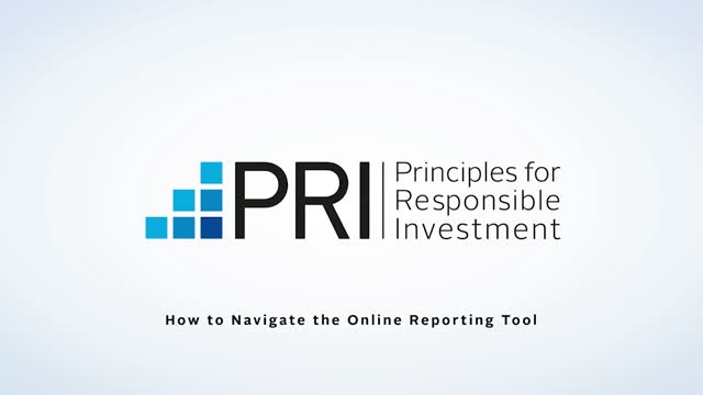PRI: How to navigate the 2020 Online Reporting Tool