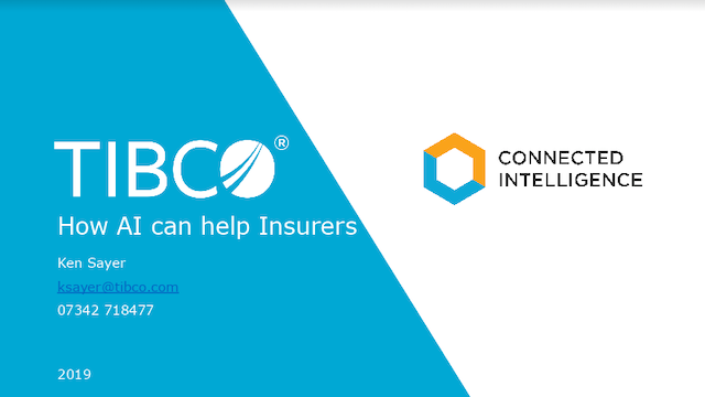 How AI can help Insurers