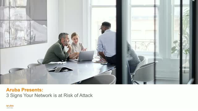 3 Signs Your Network is at Risk of Attack